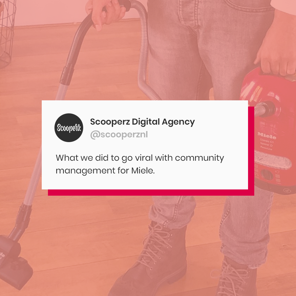 Viral community management miele webcare customer service